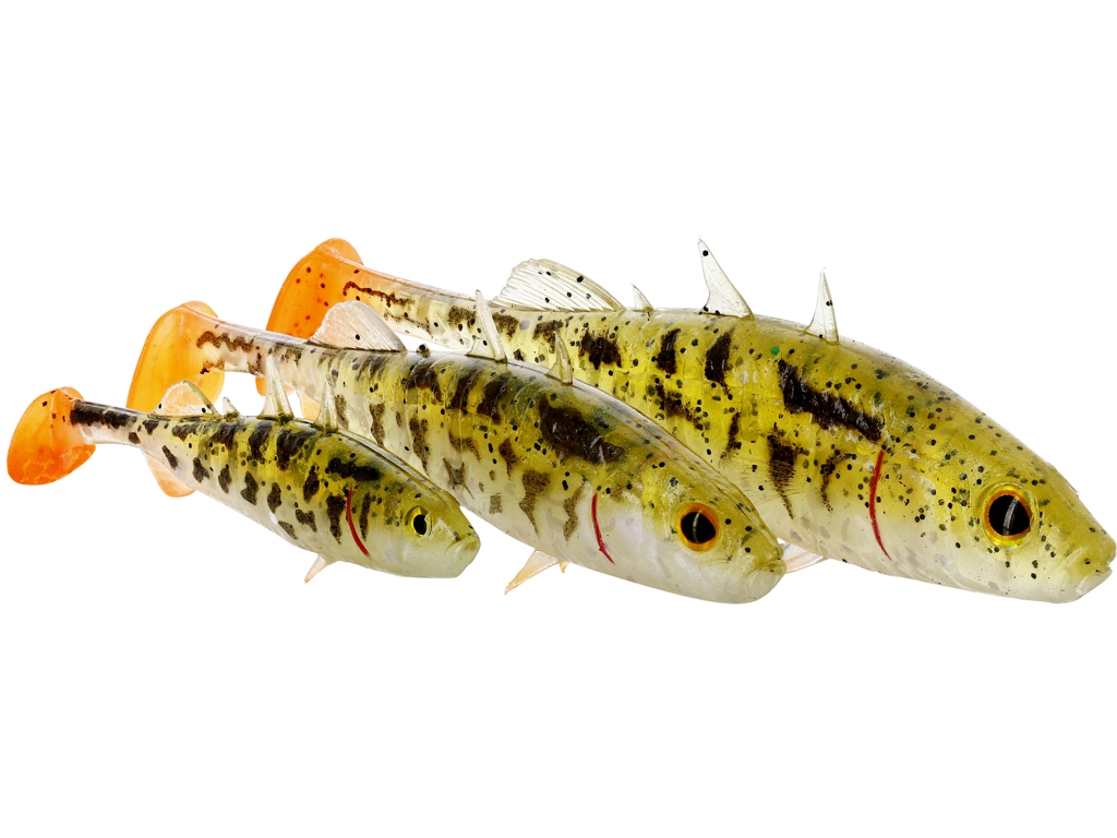 Stanley the Stickleback Shadtail 5,5cm 1,5g
