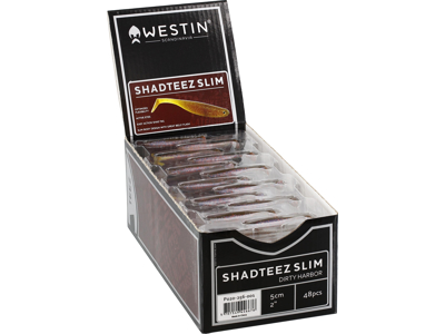 ShadTeez Slim 10cm 6g Aurora Box w. 32pcs