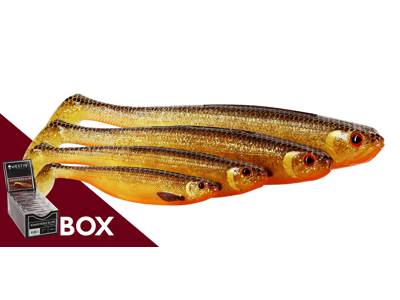 ShadTeez Slim 12cm 10g Baitfish Box w. 25pcs