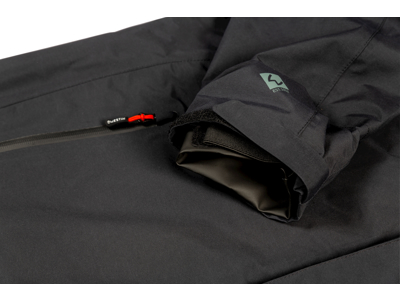 W6 Rain Suit S Steel Black