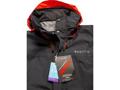 W6 Rain Suit XL Steel Black
