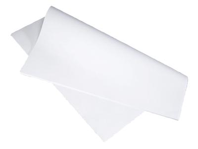 Stikdug hvid 60x60cm
