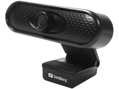 Webcamera Sandberg HD 1080P sort