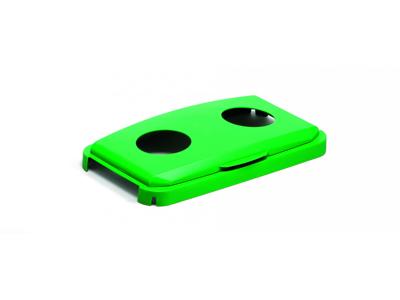 Låg DURABIN 60l grøn