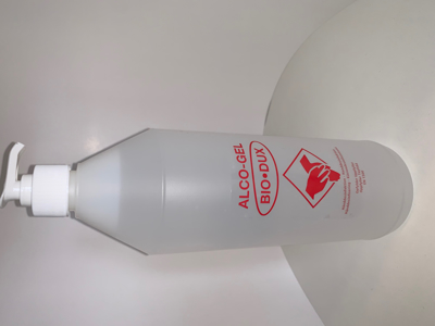 Hånddesinfektion Gel 85% 1000 ml m/pumpe
