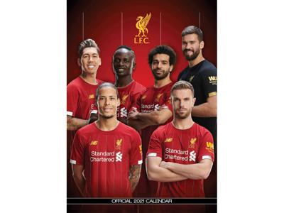 Vægkalender Liverpool
