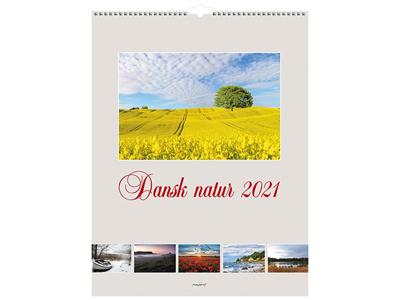 Vægkalender, Dansk natur, FSC Mix
