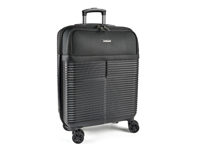 Kabinetrolley med laptop lomme 40x20x56 cm Sort ABS