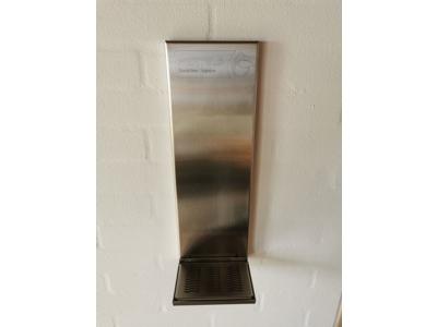 Vægstander Hertels rustfri stål 59 cm