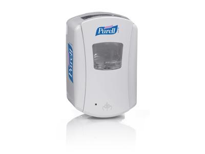 Dispenser Purell LTX til 700 ml. hvid desinfekt.