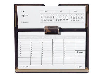 Flip-A-Week bordkalender, REFILL, FSC Mix