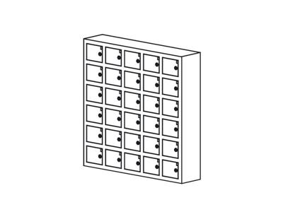 Opbevaringsboks til mobil/