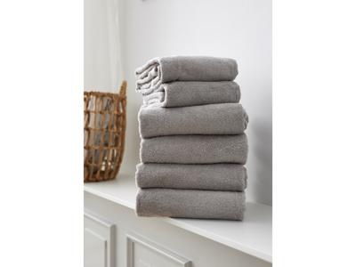 Södahl Håndklæder Light Grey, Comfort Organic