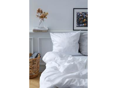 Södahl Sengetøj White 140x220 cm satinvævet i 100% bomuld, C