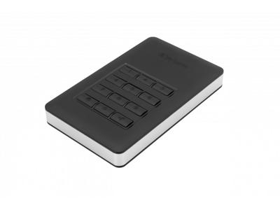 Harddisk Verbatim Store n Go keyboard 2 TB sort