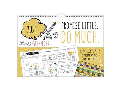 Vægkalender, Doodle, FSC Mix
