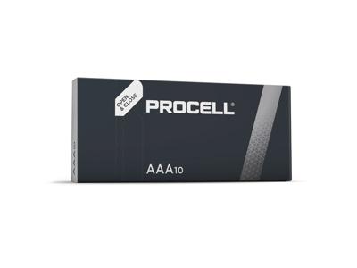 Batteri Duracell Procell AAA LR03 10 stk