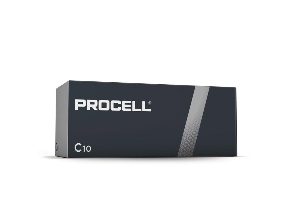 Batteri Duracell Procell C LR14 10 stk