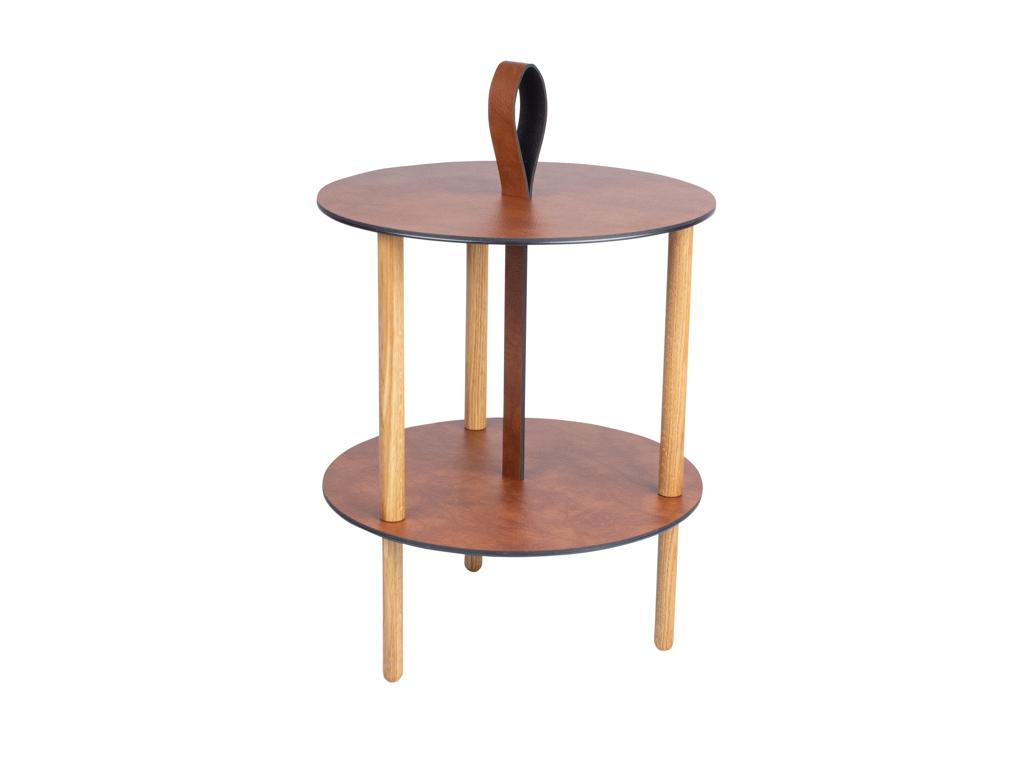 Strap Table - Cognac