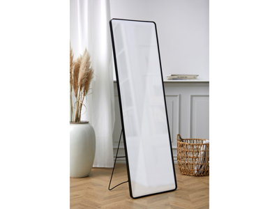 Villa Collection Spejl med sort metal ramme 45x3x140 cm