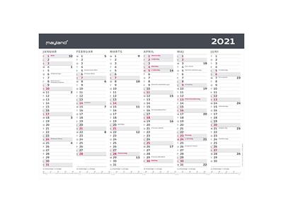 A3 kontorkalender, moderne, FSC Mix