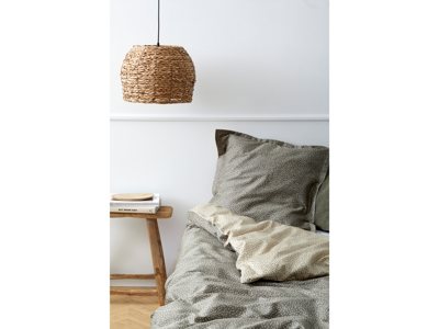 Södahl Sengetøj 140x200 cm satinvævet Balance med håndklæder