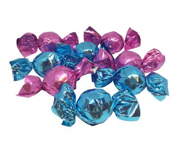 Chokoladekugler pink/blå med kakao 1 kg