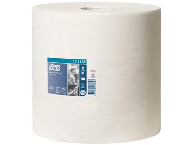 Aftørringspapir Tork Standard 1-lags W1/W2 hvid