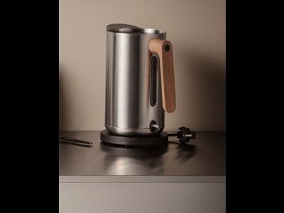 Nordic kitchen elkedel 1,5 l, rustfrit stål