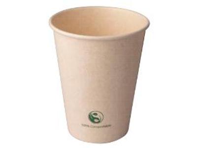 Kaffebæger Catersource 25cl hvid natur 80 stk.