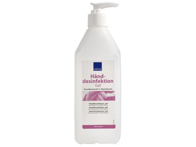 Hånddesinfektion Abena Gel 85% 600 ml m/pumpe