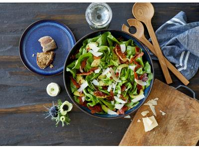 Salatskål dia. 30 cm sort/mørkblå Bitz