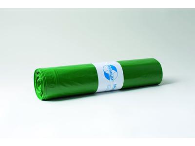 Affaldssække plastik grøn