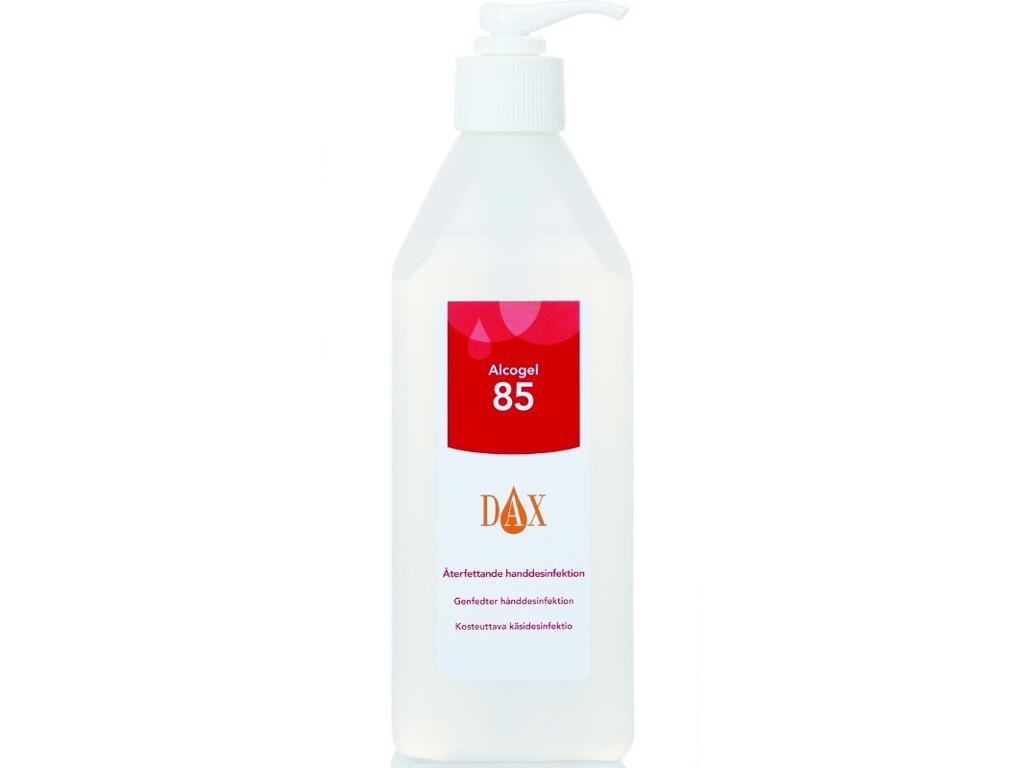 Hånddesinfektion DAX Gel 85% 600 ml