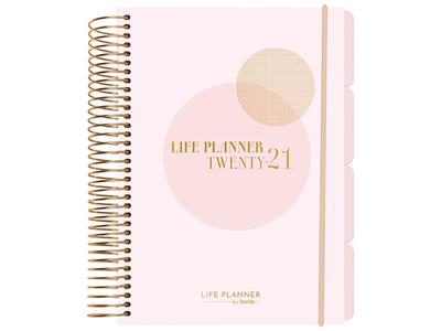 Life Planner Pink, 1 dag, FSC Mix