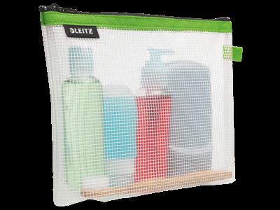 Rejselomme kosmetik vandafvisende grøn
