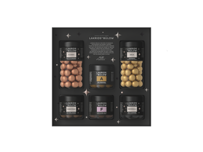 Large Black Box Winter Edition (Reg:Classic/Gold. Small: Chr