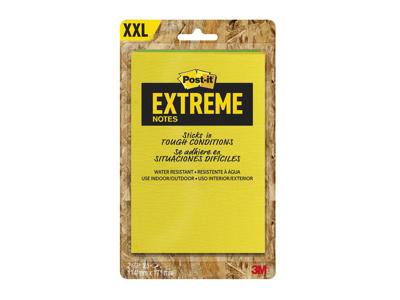Post-it blok Extreme gul/grøn