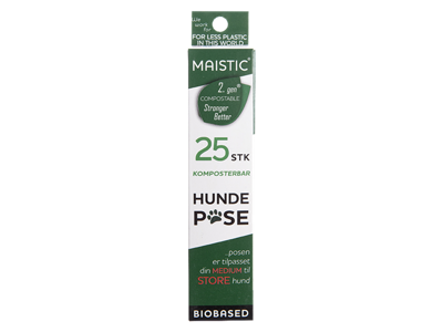 Maistic hundepose M/L 23,5x32cm 25 stk. 15my komposterbar