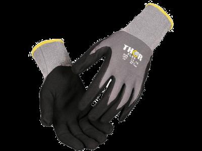 Handske fingerdyppet THOR Flex str. 12