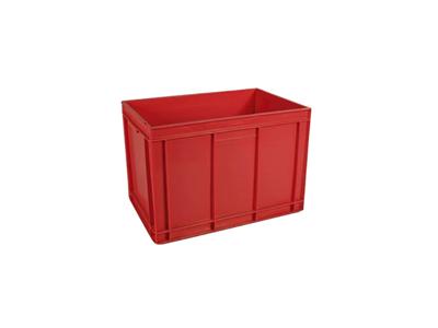 Saltkar 90 Ltr. 600x400x425 mm rød