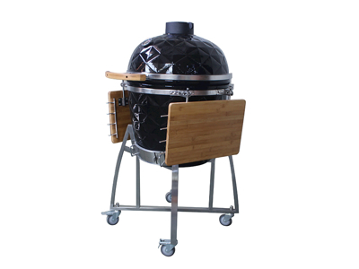 Grill Kamado L Sort Diamond