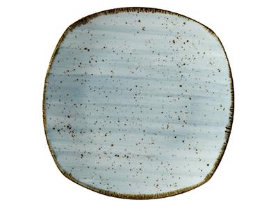 Tallerken flad 23x23 cm Corendon blå
