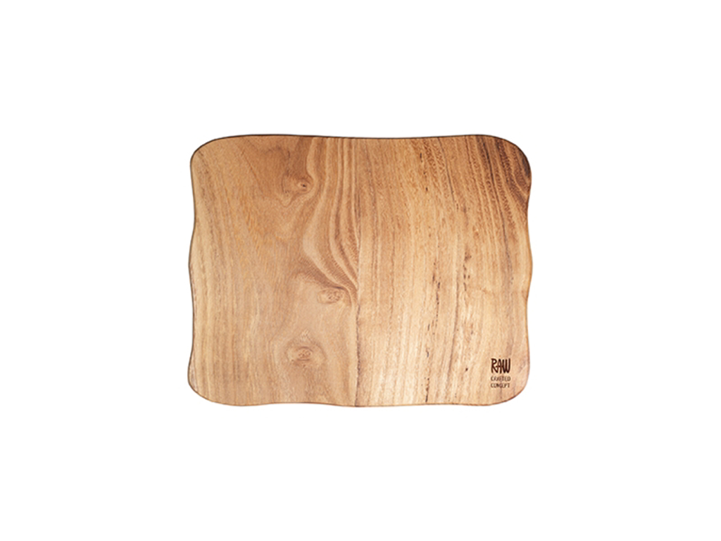 RAW Træskærebræt 32x24x2 cm