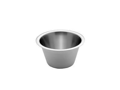 Konisk rustfri skål 0,75 ltr. Ø 15 cm