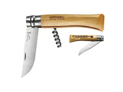 Foldekniv med proptrækker 10 cm