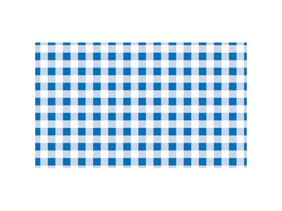 Vokspapir blå ternet 500 stk