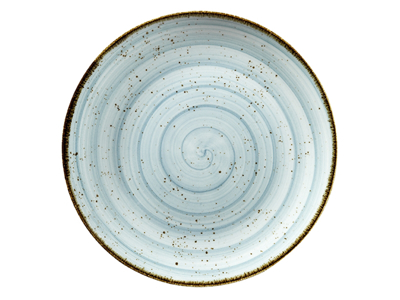 Tallerken flad Ø 28 cm Corendon blå
