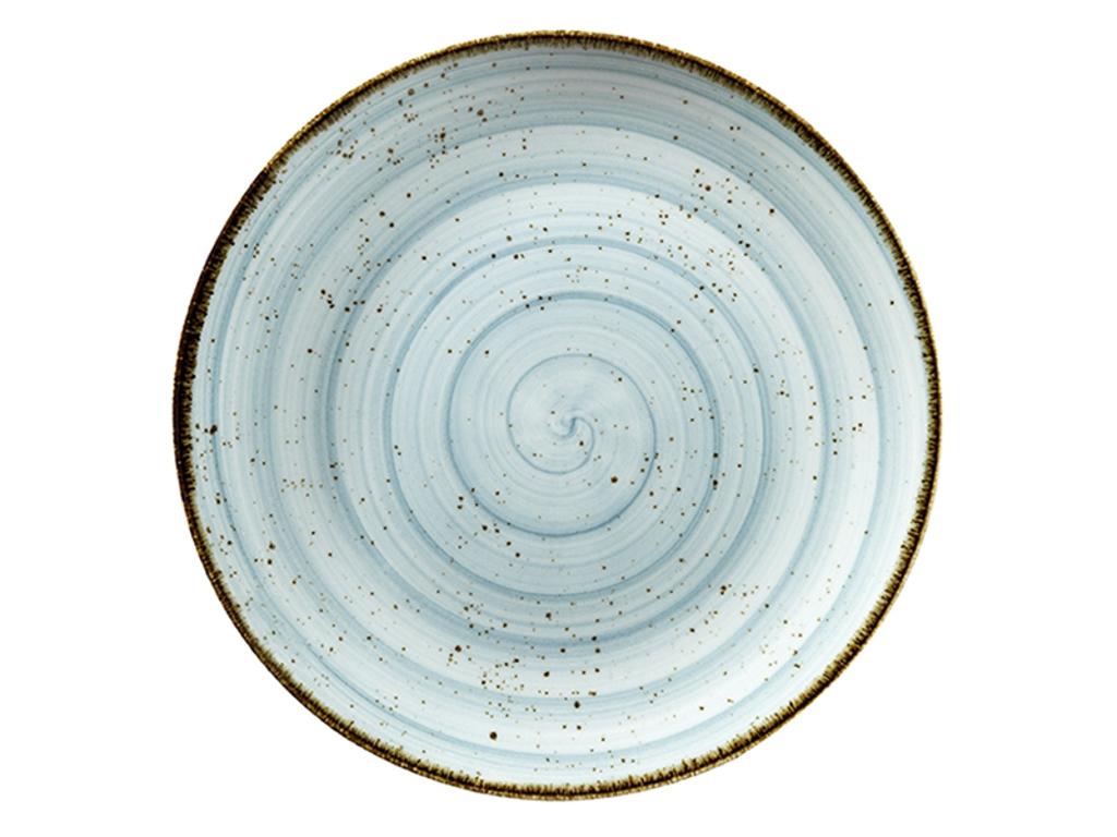 Tallerken flad Ø 17 cm Corendon blå