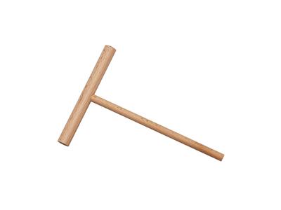 Crepe pind 21x14 cm Bøg